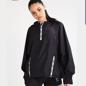 IVY PARK Beyoncé black hoodie windbreaker jacket